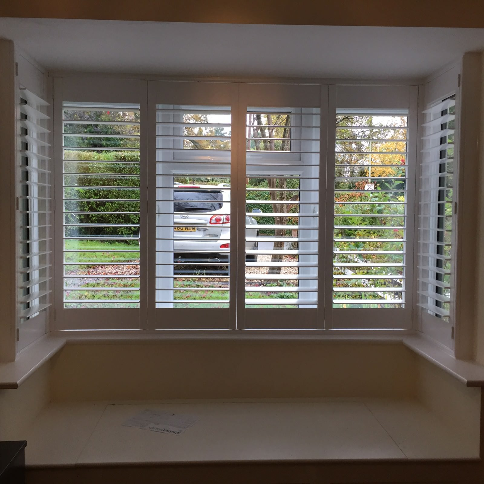 Square Bay Shutters Fitted In Winchester Shuttersouth