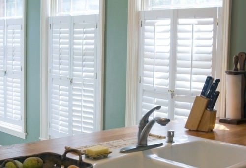 Cafe Style and Tier-on-Tier Kitchen Shutters - Shuttersouth