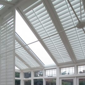 Conservatory Roof Shutters Fitted by Shuttersouth, Hampshire