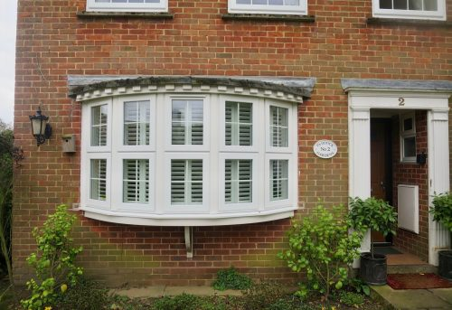 Bay window plantation shutters hampshire dorset Are plantation shutters still in style 2017