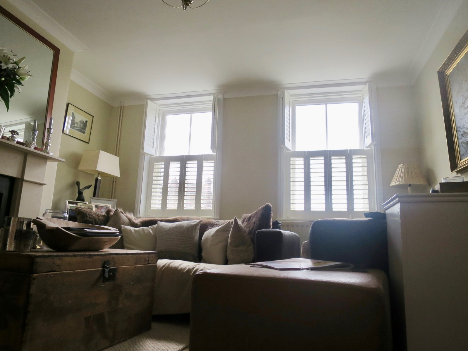 Tier-on-Tier Shutters Fitted in London by Shuttersouth