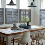 Scandi Style Dining Room with Shutters - Shuttersouth