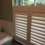 Cafe Style Shutters Fitted in New Forest