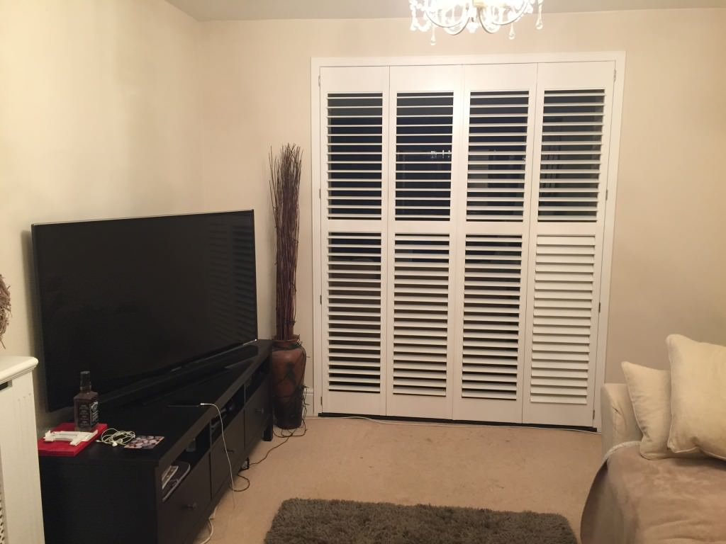 Room Divider Shutters Fitted in New Forest