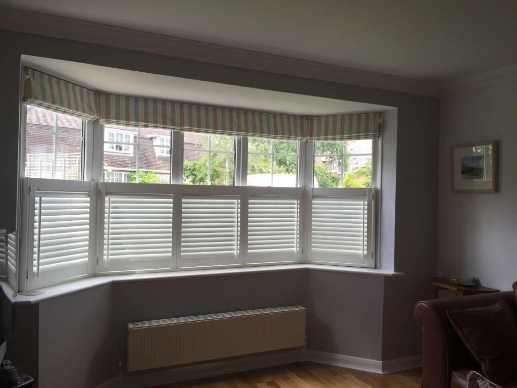 Cafe Style Shutters fitted in Lymington