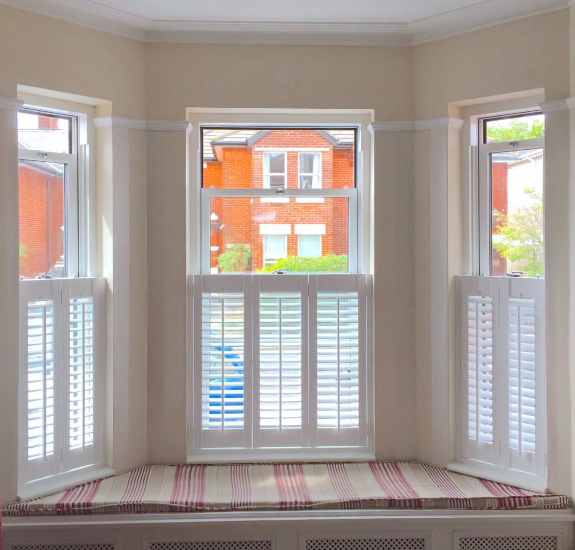 Netley Shutters Bay Window