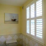 Full Height Bathroom Shutters Fitted in Arundel, West Sussex - Shuttersouth