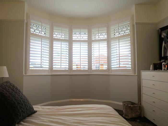 Bay Window Plantation Shutters Fitted in Southampton