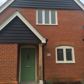 Shutters Fitted in Romsey - Morleys Green - Front