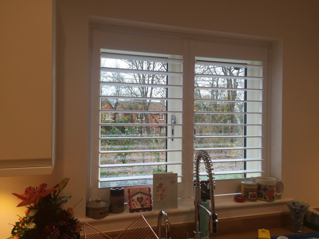 Shutters Fitted in Romsey - Morleys Green - Kitchen