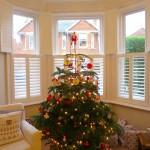 Bay Window Shutters Fitted in Winchester Inside