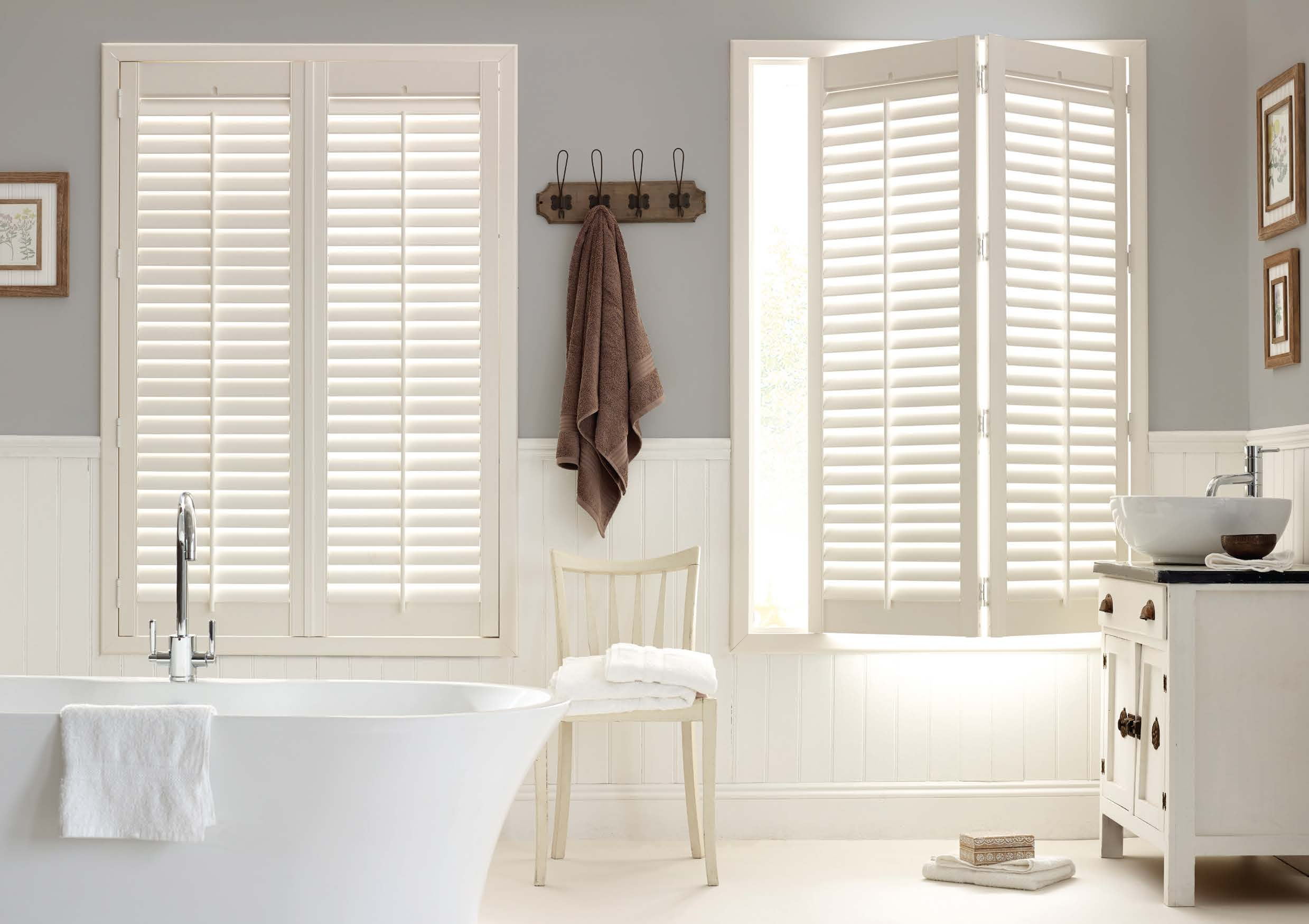 Bathroom Shutters Winchester - Shuttersouth - Hampshire
