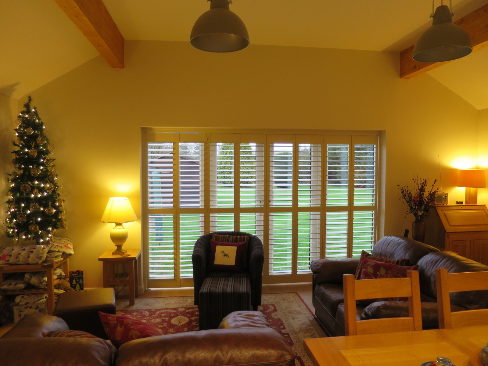 Tracked Plantation Shutters Fitted in Bishops Waltham - Shuttersouth