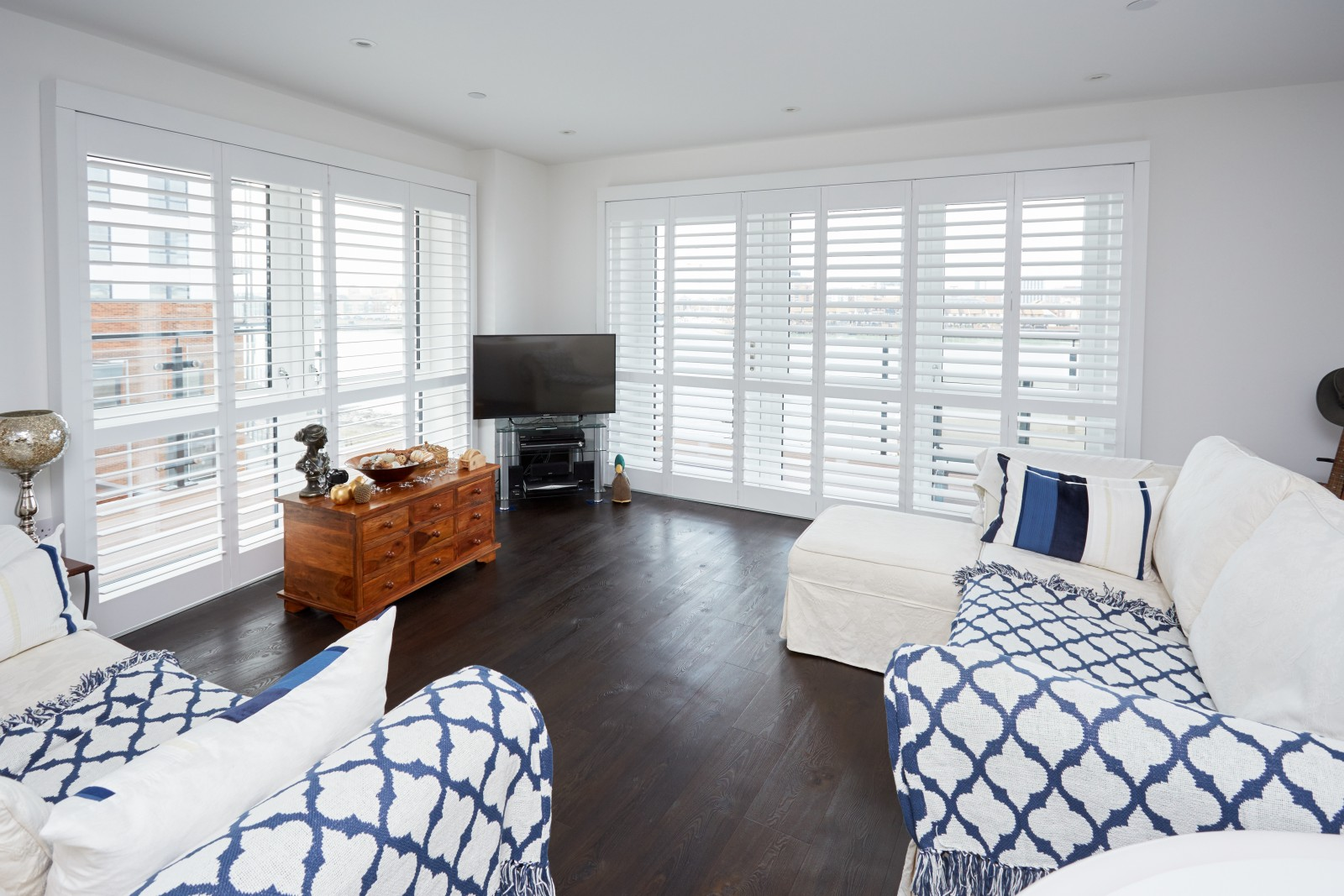 Modern Plantation Homes | Can Shutters Work In A Modern Home Shuttersouth