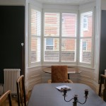 Plantation Bay Window Shutters Fitted in Southampton by Shuttersouth
