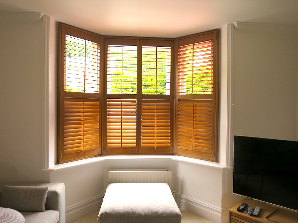 Bay Window Shutters - Bishops Waltham - 2016