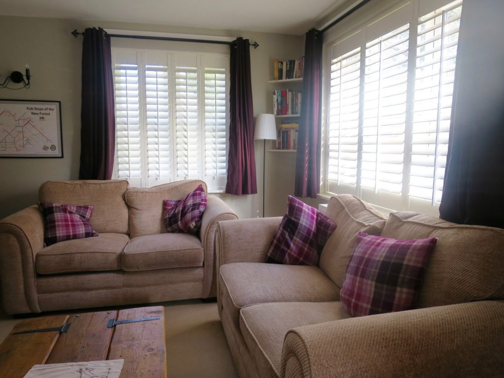 Lounge Shutters Fitted in Fordingbridge, New Forest