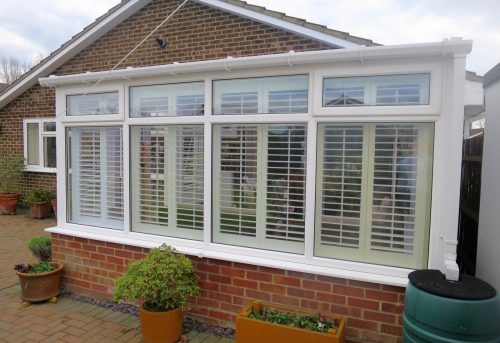 Full Height Conservatory Shutters Fitted by Shuttersouth, Hampshire.jpg