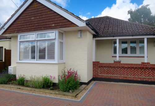 Bay Window Shutters Bishops Waltham Bungalow