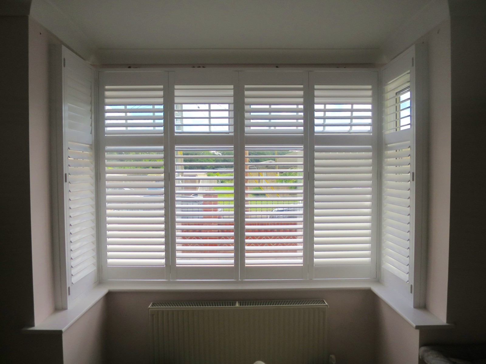 Bungalow Bay Window Shutters Shuttersouth