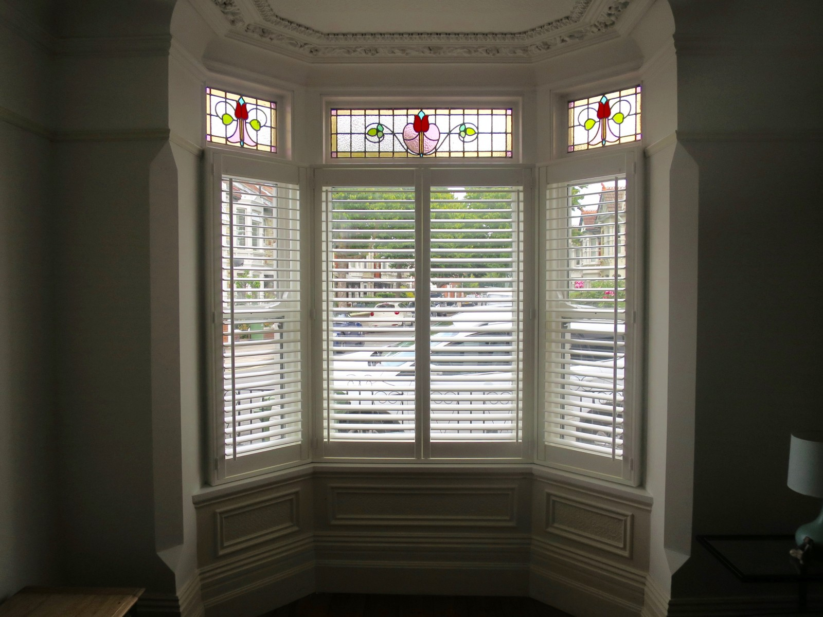 Cafe Style Shutters Fitted In Southsea Portsmouth