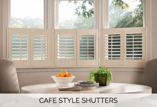 Cafe Style Shutters - Shuttersouth - West Sussex