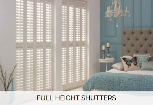 Full Height Shutters - Shuttersouth