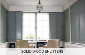 Solid Wood Shutters - Shuttersouth - West Sussex