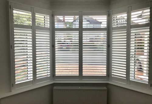 Bay Window Shutters Fitted in Bitterne - Shuttersouth