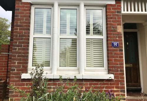 Plantation Tier-on-Tier Shutters Fitted by Shuttersouth in Southampton