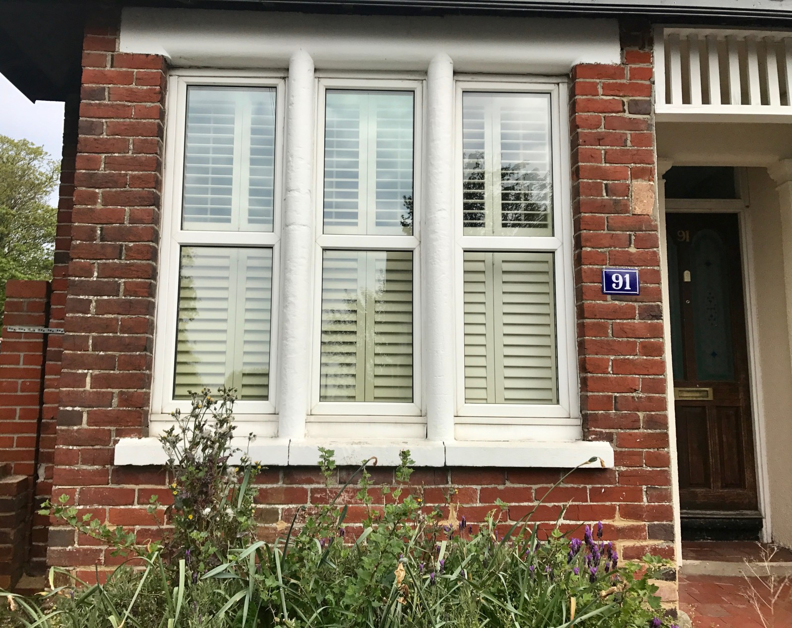 Bay Window Shutters Fitted In Southampton Hampshire Shuttersouth