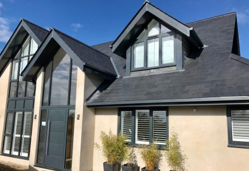Shutters Fitted in Lymington - Modern House - Shuttersouth