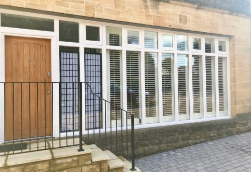 Trade Shutters - Large Plantation Shutters - New Property Development - Shuttersouth