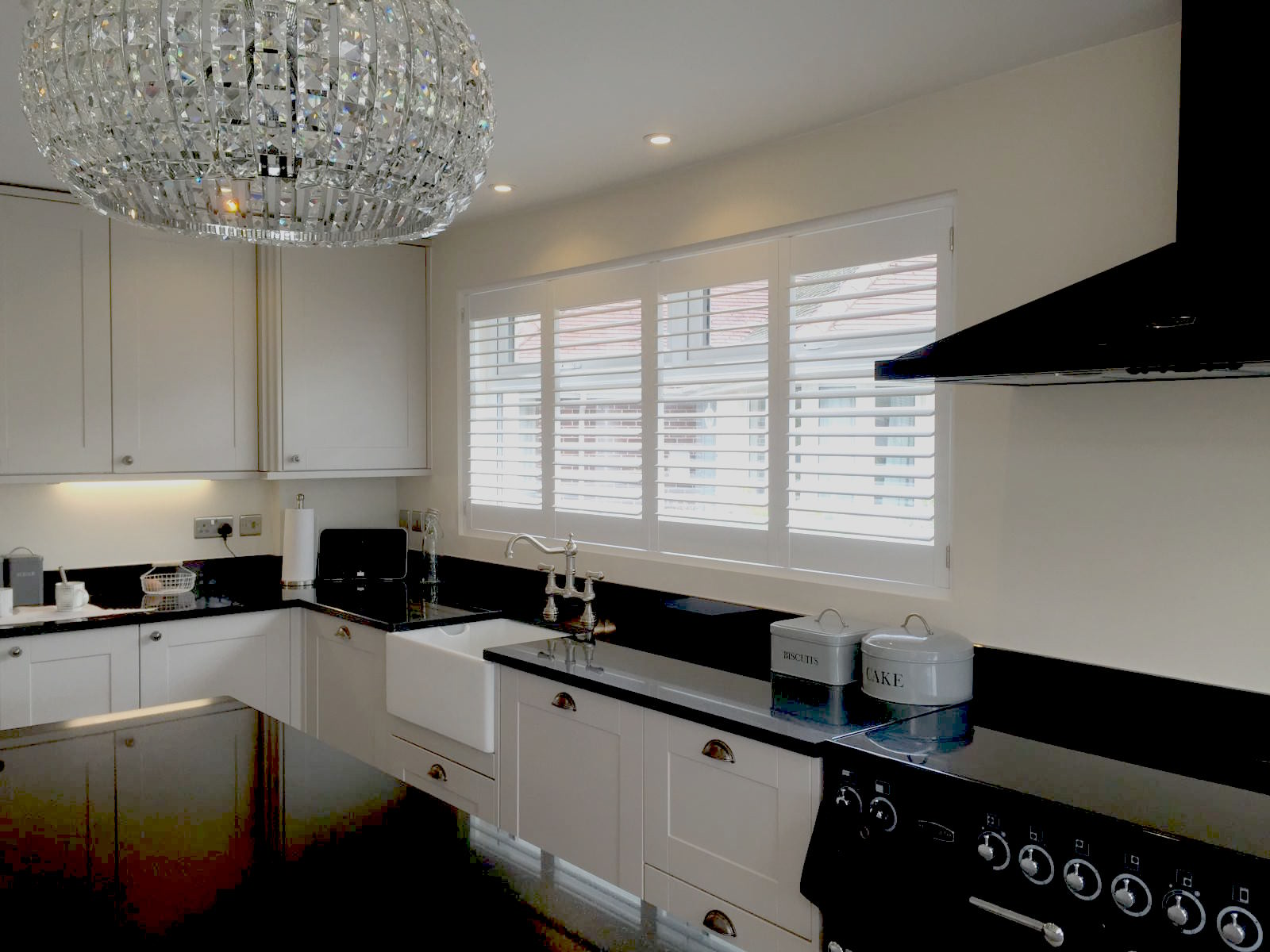 Kitchen Shutters - Christmas - Shuttersouth