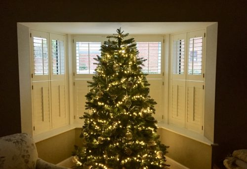 Shutters Fitted in Farnham by Shuttersouth - Christmas Tree