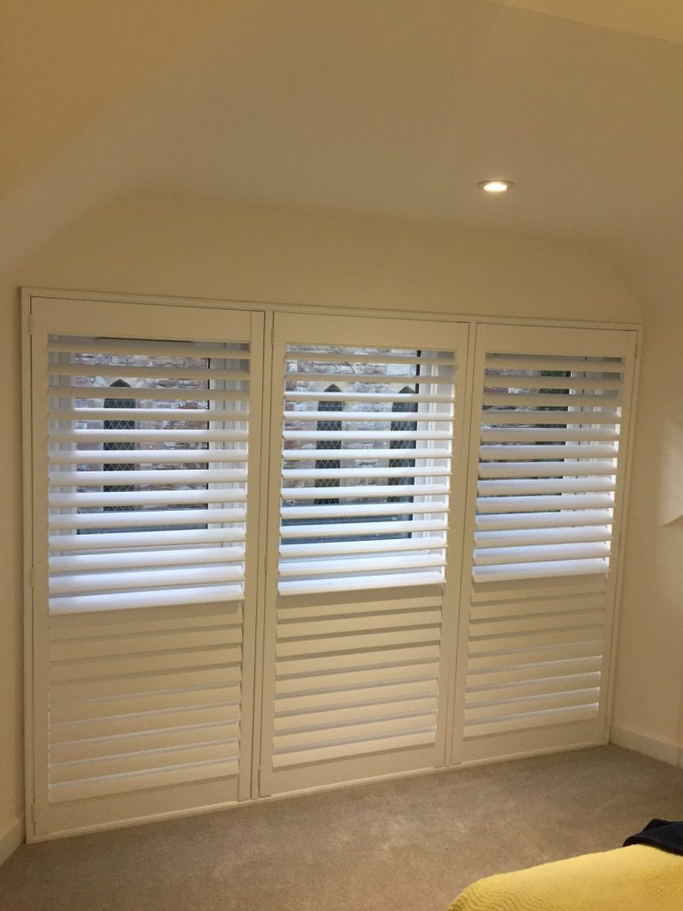Shutters Fitted in Swanage by Shuttersouth