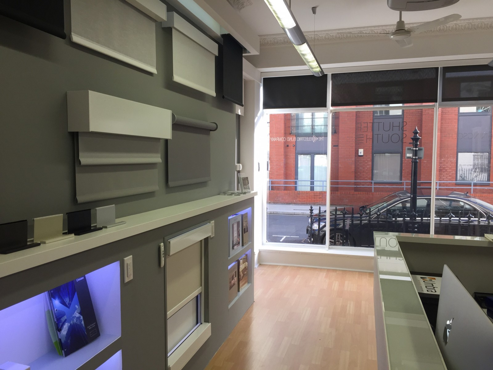 Electric Blinds Pocket - The Electric Blind Company Showroom - Southampton